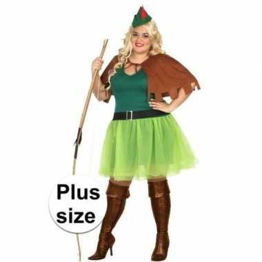 Goedkoop carnavalskleding robin hood carnavalskleding xxl dames