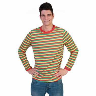 Goedkoop carnavalskleding shirt dorus heren