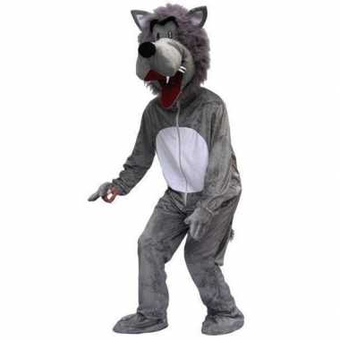 Goedkoop carnavalskleding wolf volwassenen