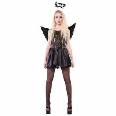 Goedkoop carnavalskleding zwarte engelen carnavalskleding