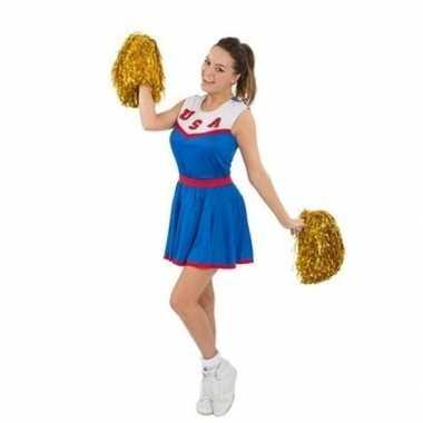 Goedkoop cheerleaders carnaval carnavalskleding usa dames