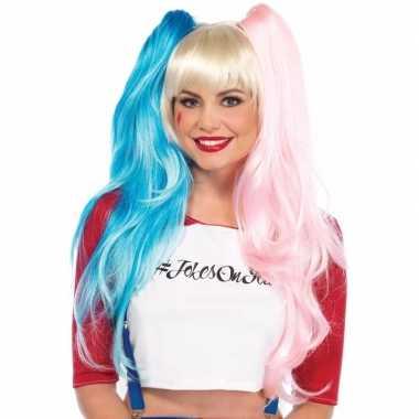 Goedkoop cosplay harley look a like damespruik staartjes carnavalskle