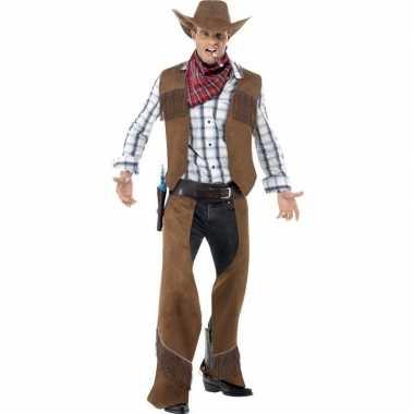 Goedkoop cowboy carnavalskleding heren