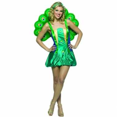 Goedkoop dierencarnavalskleding pauwen carnavalskleding dames