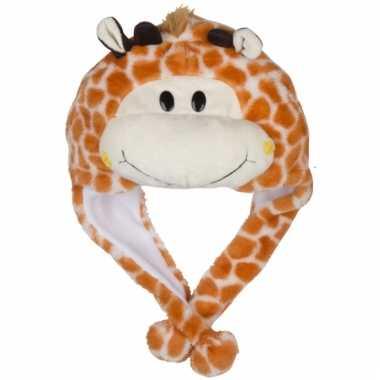 Goedkoop dierenmuts girafje kinderen carnavalskleding