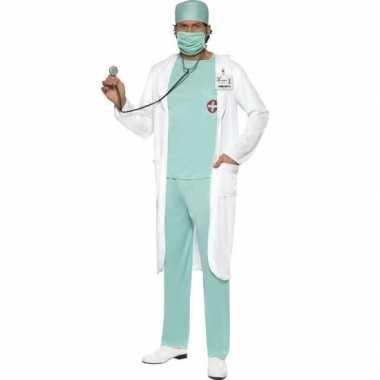 Goedkoop dokter carnavalskleding jas heren