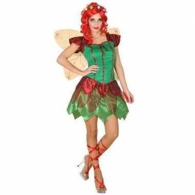Goedkoop elfen jurkje dames carnavalskleding