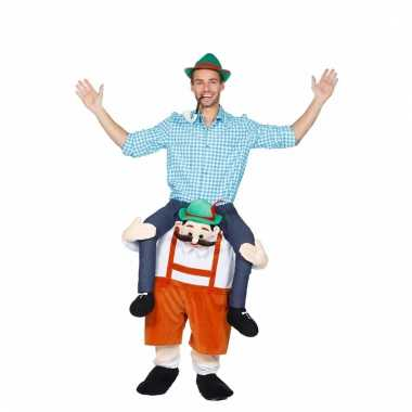 Goedkoop funny instap carnavalskleding dwerg draagt man