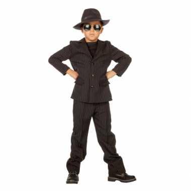 Goedkoop gangster carnavalskleding kids