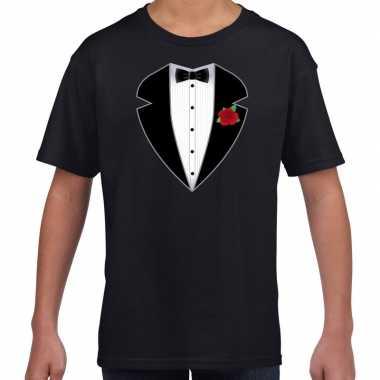 Goedkoop gangster / maffia carnavalskleding carnavalskleding t shirt