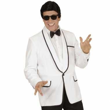Goedkoop gentlemen jasje wit carnavalskleding