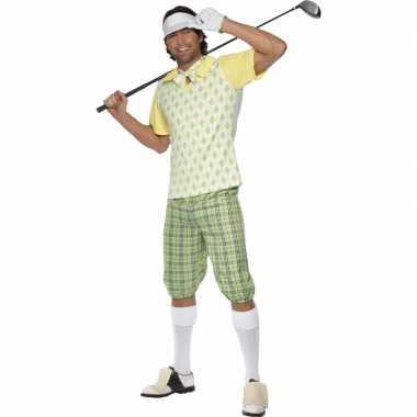 Goedkoop golfer carnavalskleding heren