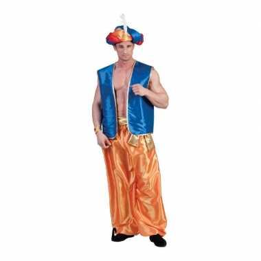 Goedkoop gouden arabische broek heren carnavalskleding