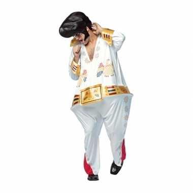 Goedkoop heren dikke elvis the king carnavalskleding