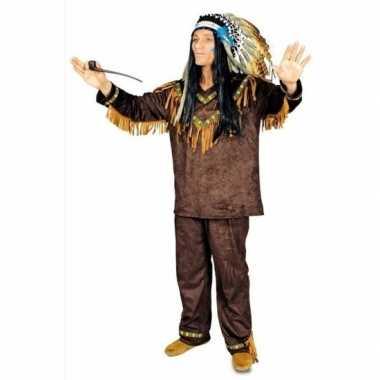 Goedkoop heren indiaan carnavalskleding hania