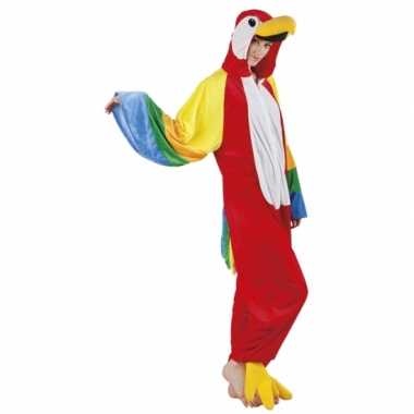 Goedkoop huiscarnavalskleding papegaai dames
