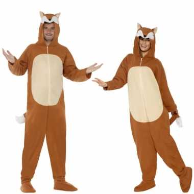Goedkoop huiscarnavalskleding vos volwassenen