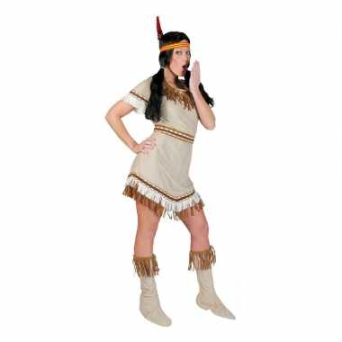 Goedkoop indiaan alawa carnavalsjurkje dames carnavalskleding