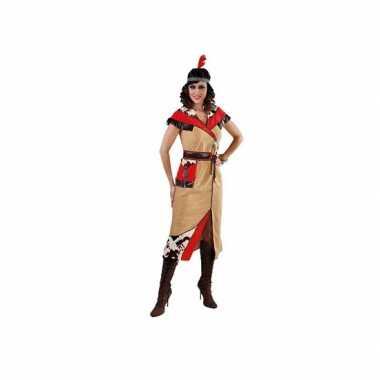 Goedkoop indiaan carnavalskleding dames 10049897