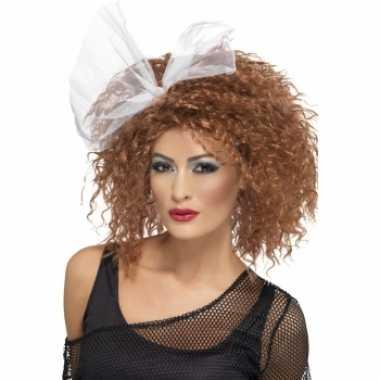 Goedkoop jaren dames krullen pruik carnavalskleding