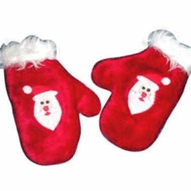 Goedkoop kerst handschoenen kinderen carnavalskleding