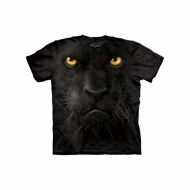 Goedkoop  Kids dieren shirts zwarte panter carnavalskleding