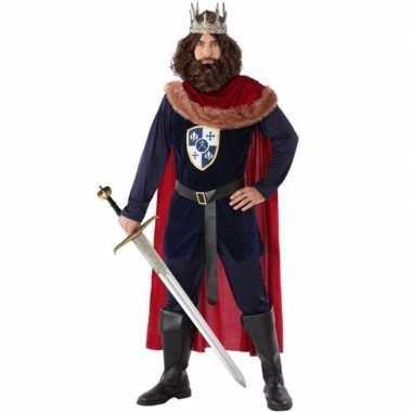 Goedkoop koning verkleedcarnavalskleding heren