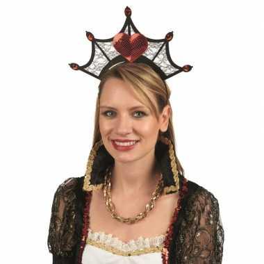 Goedkoop koninginnenkroon dames carnavalskleding