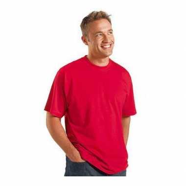 Goedkoop logostar shirt korte mouw rood xl carnavalskleding