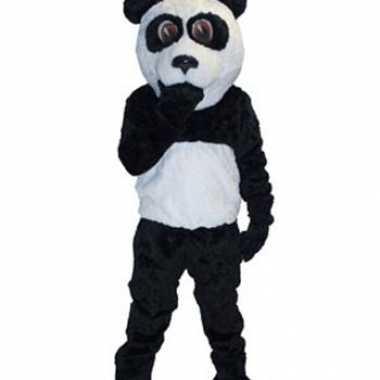 Goedkoop luxe mascotte carnavalskleding panda