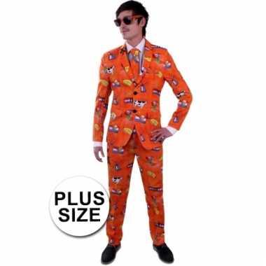 Goedkoop luxe nederland carnavalskleding grote maat heren