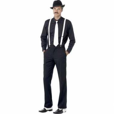 Goedkoop maffia verkleedsetje mannen carnavalskleding