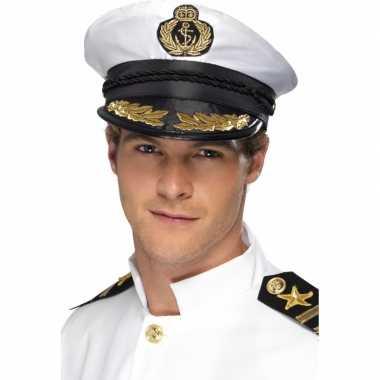 Goedkoop marine kapiteins pet carnavalskleding