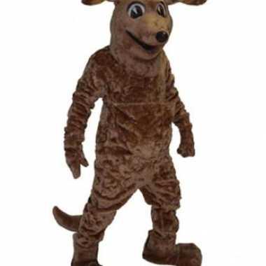 Goedkoop  Mascotte carnavalskleding bruine hond