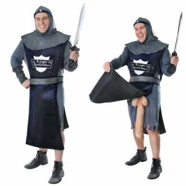Goedkoop middeleeuws fun carnavalskleding naakte ridder