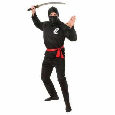 Goedkoop ninja carnavalskleding volwassenen 10051514