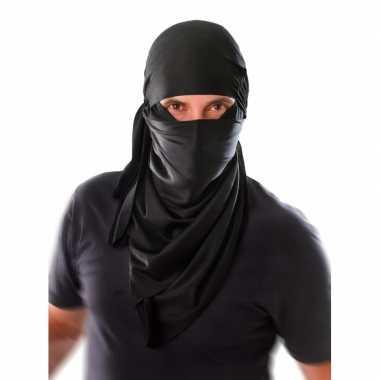 Goedkoop ninja sjaal om hoofd carnavalskleding