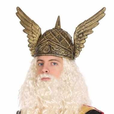 Goedkoop noorman verkleed helm heren carnavalskleding
