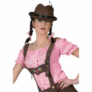 Roze Carnavalskleding Dames.Goedkoop Off Shoulder Blouse Roze Dames Carnavalskleding Goedkoop