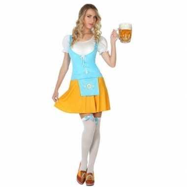 Goedkoop oktoberfest voor oktoberfest verkleed jurkje dames carnavals