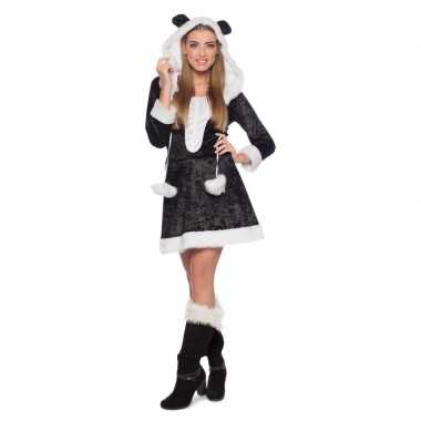 Goedkoop panda dieren carnavalskleding dames