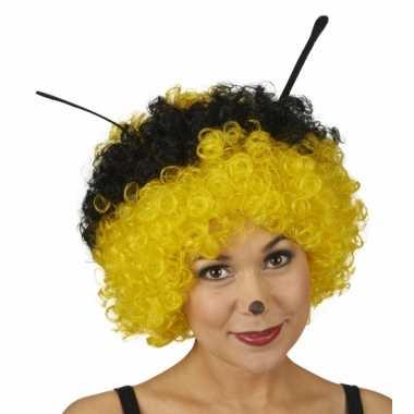 Goedkoop party pruik bijen carnavalskleding