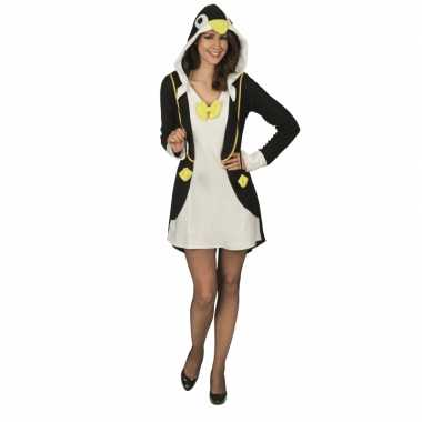 Goedkoop pinguin verkleedjurk dames carnavalskleding