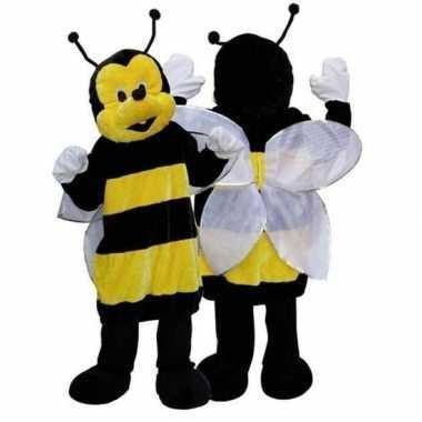 Goedkoop pluche bijen carnavalskleding deluxe