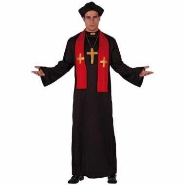 Goedkoop priester toga volwassenen carnavalskleding