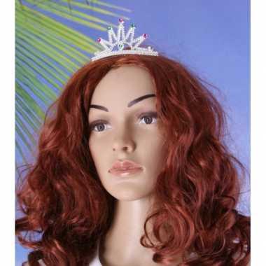 Goedkoop  Prinses tiara klem carnavalskleding