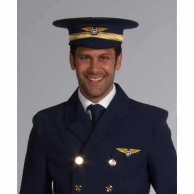 Goedkoop proffessionele piloten hoed carnavalskleding