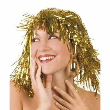 Goedkoop  Pruiken goud carnavalskleding