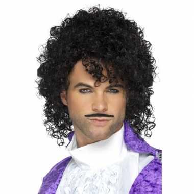 Goedkoop purple rain verkleed setje volwassenen carnavalskleding