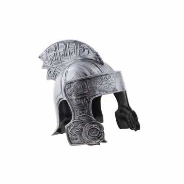 Goedkoop ridder helm zilver volwassenen carnavalskleding